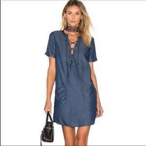 Lovers + Friends Chambray dress. Size small.